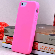 Colorful silicone Softest of matte phone bags Case for iPhone 5s 5G original cover skin 10th color