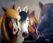wall hanging picture Excellent famous horse paintings ct-137