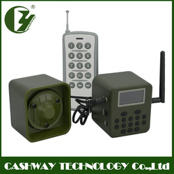 Factory wholesale bird trap hunting , 50w decoy bird , 150dB hunting product with remote encoded one by one
