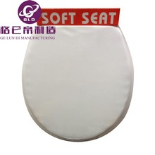 2015 intelligent toilet seat Plastic easy installation soft toilet seat lid cover for bathroom accessories wholesale china