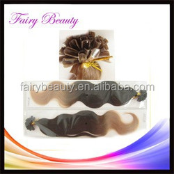 2015 New Arrival Hot Style Remy Glue packaging for hair extensions