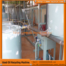 2013 recycling waste oil vacuum distillation unit Plant from china