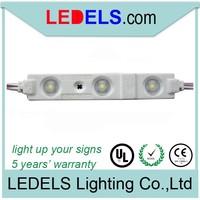 IP65 ,5 YEARS Warranty,Powered by everlight led module , 12 volt led led module 2835 storefront led lighting