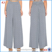 Wholesale Low Prices Fashion Design Female Pants Trousers High Waist Ladies Trouser Cutting