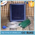 Solar powered oxygenaor agua de estanque de la bomba de oxígeno 1 aire piedra aireador ( P008A )