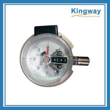 100 mm 150 mm all stainless steel electric contact oil fillable bottom with flange pressure gauge
