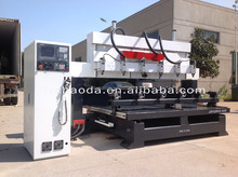 multi spindles wood copying lathe / 4 axis multi head cnc router