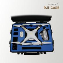 Rugged Hard Case With Foam for DJI Quadcopter Drones , Phantom 3 Pro, Phantom 3 Advanced