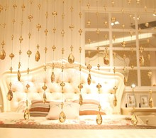 Crystal bead curtain for home decoration