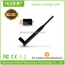 In stock miracast realtek rtl8192 802.11n wifi 300mbps mini wireless usb adapter EP-MS1537