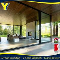 aluminium sliding stacking doors /sliding glass doors /door internal cavity slider