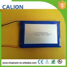 1s2p 3.7v li-po lithium polymer 10000mah battery pack
