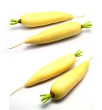 Verduras zanahoria de plástico para la decoración del hogar
