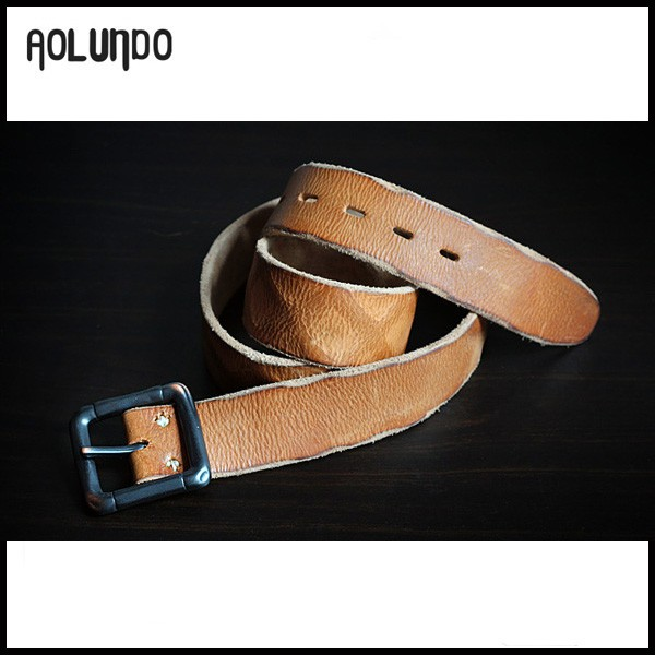wholesale mens used fashion leather belt