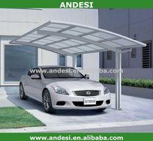 polycarbonate plastic garage carport