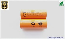 GTR IMR26650 Battery 3.6V 5000mAh lithium-ion battery For e-cigarettes Flashlight Electric tools