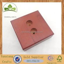 wooden mold base wooden square base