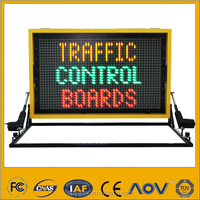 OPTRAFFIC Vehicle Truck Mounted Mounting Led Display Variable Message Signs Management Traffic Control Vms