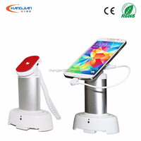 1 way square shape mobile phone/tablet pc anti-theft alarm sensor host with charge function