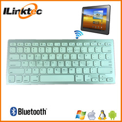 Ultra-slim wholesale cheap bluetooth keyboard for ipad iphone, Windows PC, Android devices