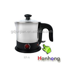 red stainless steel electric kettle