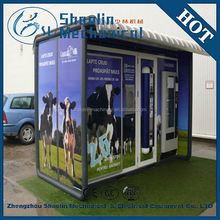 professional multifunctional full automatic coin operated fresh milk vending machine