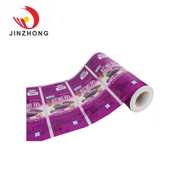 Por encargo resellable transparente seca embalaje película laminada