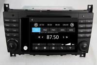cheap price car radio dvd gps navigation system for MERCEDES C-Class W203 CLK W209 apple UI WS-8731