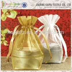Wholesale sacchetto colorful little gift organza bag