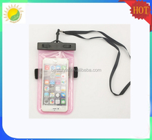 2015 Product mobile phone waterproof bag , fashion phone pvc waterproof case