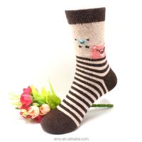 rabbit hair socks hot sale wool kid socks china factory socks thermal winter socks