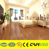 Cheap price 4mm, 5mm thickness uv coated virgin click lock vinyl plank flooring
