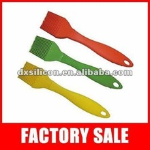 Hot sale promotional silicon tint brush with different material handle