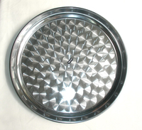 stainless steel Serving Tray Round Tray