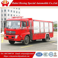 High quality Dongfeng 4x2 used airport fire fighting truck