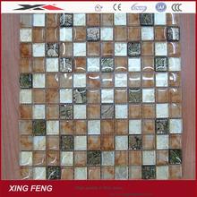 modern kitchen designs crystal mosaic ceramic tiles