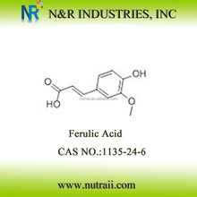 Natural Ferulic Acid 1135-24-6