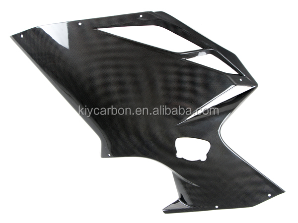 Carbon fiber motorcycle parts side fairings for MV Agusta F4