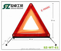 2014 PMMA material traffic warning emergency plastic triangle signs
