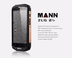 Long time battery 5.0 inch IPS touch screen android 4.4 Mann ZUG5S mobile phone
