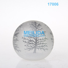 Wholesale handmade glass personalized christmas ball ornaments