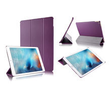 12 Colors Triple Fold Smart Cover For iPad Pro Case