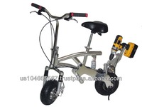 """Cordless Drill Powered Bicycle """"Pit Bike"""""""