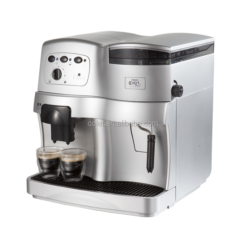 Italian Automatic Coffee Maker : Automatic espresso coffee maker with 19Bar Italy pump, View coffee maker, COLET Product Details ...