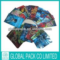 Biodegradable toxic potpourri aluminum foil with ziplock top bag made in china