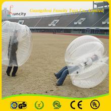 De alta calidad de 1,0 mm de PVC / TPU burbuja inflable Bola / burbuja inflable del balón de fútbol Hecho De China