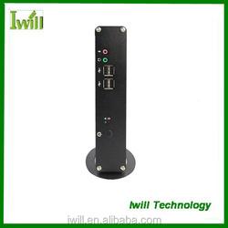 Iwill Celeron dual core 1037U embedded mini-itx slim desktop case pc