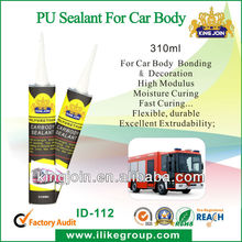 Poly urethane PU adhesive sealant for car use