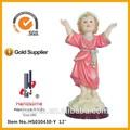 pulgadas 12 divino nino las ventas caliente personalizar la decoración del hogar de cristo resina estatua de jesús