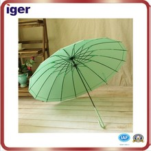 Shangyu 24ribs uv protection three folding sun and rain umbrella